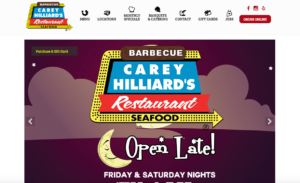 Carey Hilliards New Website Blog